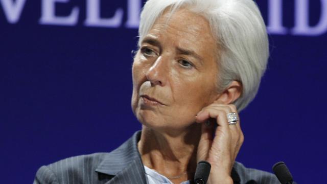 Lagarde heeft weinig sympathie voor Griekenland