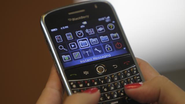 Herstel Blackberry komt op gang