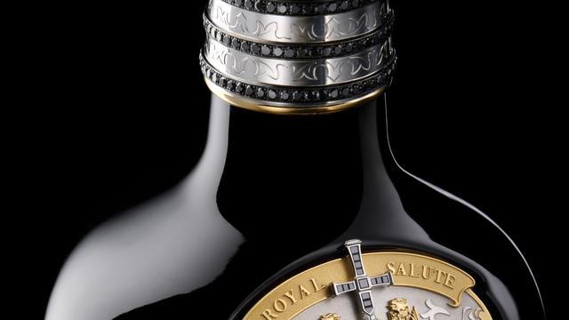 Royal Salute lanceert duurste whisky ter wereld