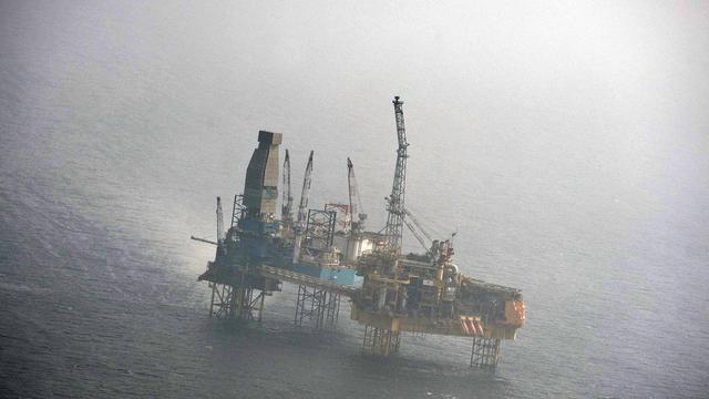 Total kan lek platform Noordzee dichten