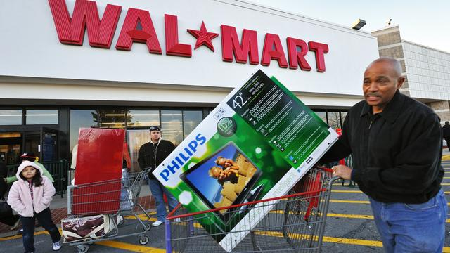Wal-Mart heeft weinig last van protesten