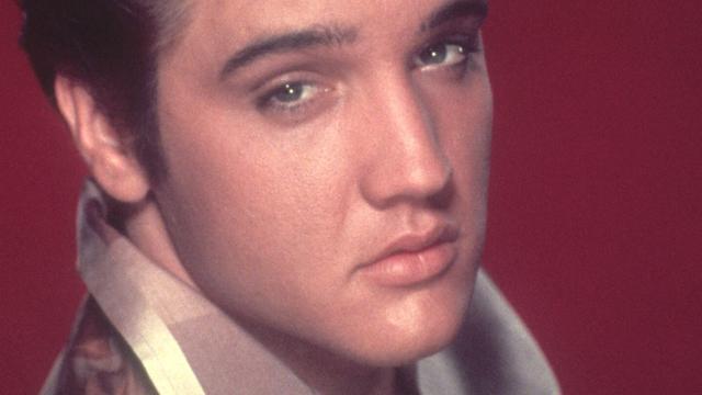 Blauwe suède schoenen Elvis Presley onder de hamer
