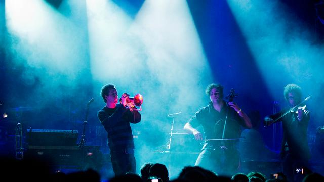 The Kyteman Orchestra trapt tour af in Tivoli
