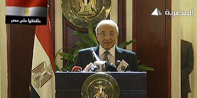 Hoofdkantoor presidentskandidaat Egypte vernield