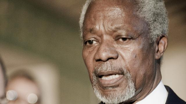 Rusland tegen deadline plan Annan voor Syrië