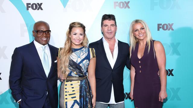 Simon Cowell sust relletje rond Britney Spears
