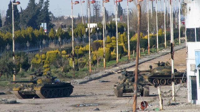Beschieting Homs gaat door