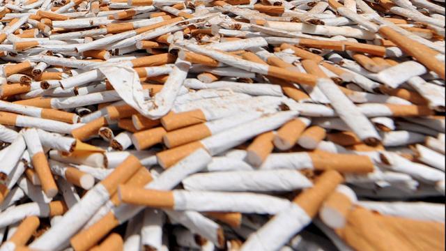 Miljoenen illegale sigaretten gevonden