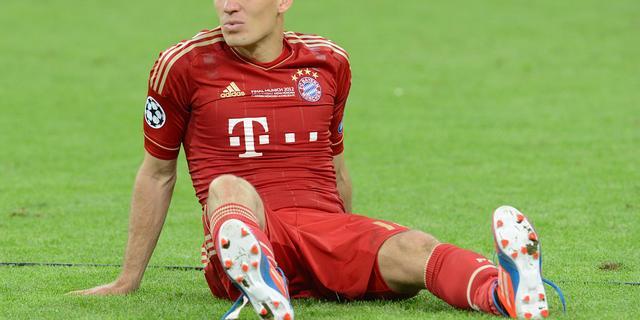 Bayern moet Robben weer missen