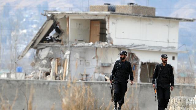 Schuilplaats Bin Laden in Pakistan vernietigd