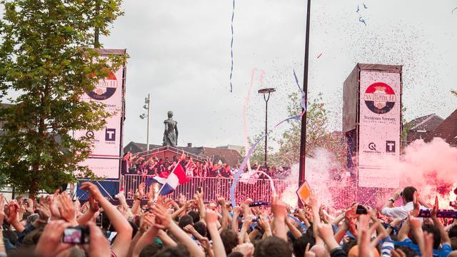 Tilburg viert feest om promotie