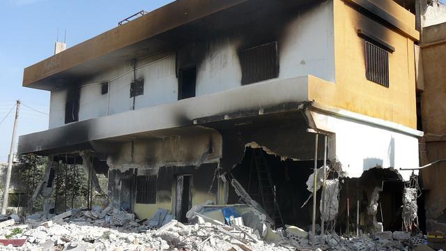 Granaten afgevuurd op Centrale Bank Syrie