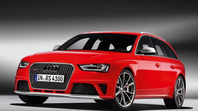 Audi stopt met productie RS4 en RS5
