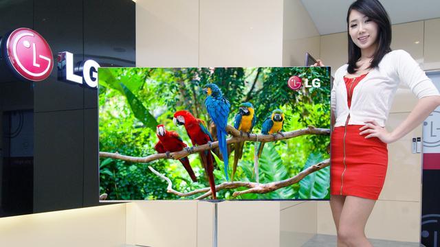 LG brengt OLED-tv met 4K-resolutie in 2013