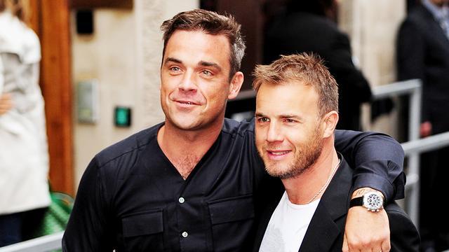 Gary Barlow noemt Robbie Williams 'een groot kind'