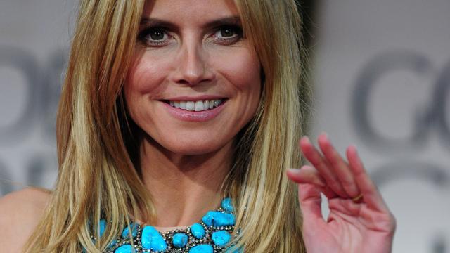 'Heidi Klum spreekt openlijk over scheiding'