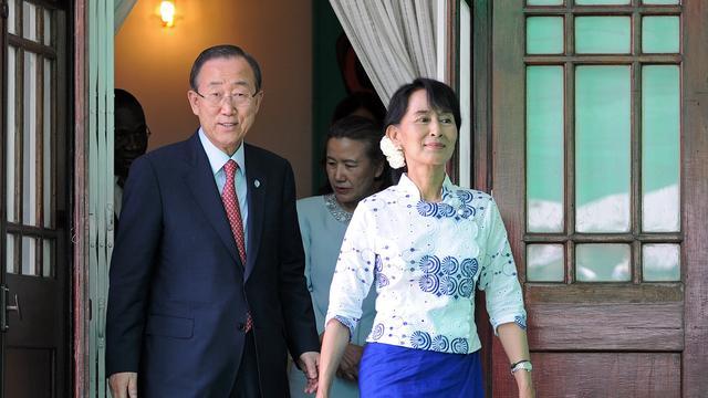 Eerste buitenlandse reis Suu Kyi in 24 jaar