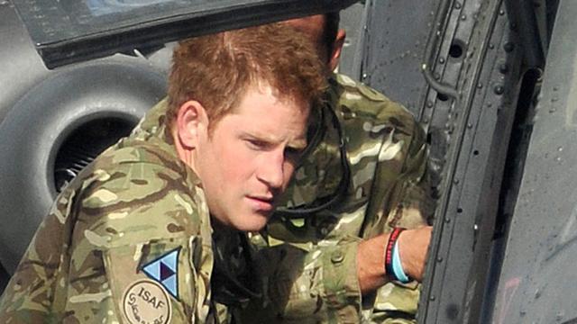 Prins Harry ongedeerd bij aanval basis
