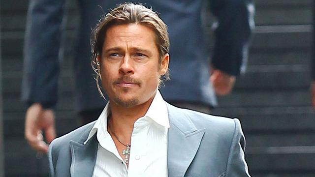 Brad Pitt voelt zich veiliger met wapen