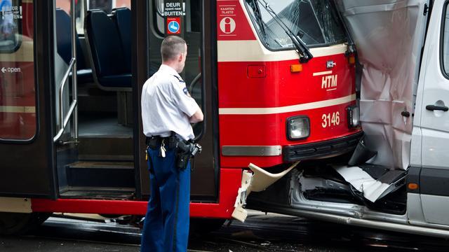 Politie vist dronken bestuurder uit tram