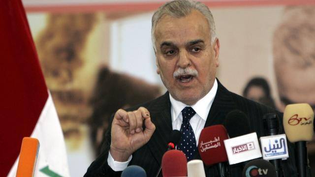 Turkije levert vicepresident Irak niet uit