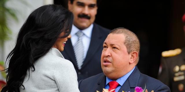 Chávez voor operatie naar Cuba vertrokken