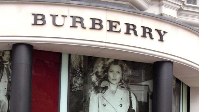 Burberry ontvangt modeprijs