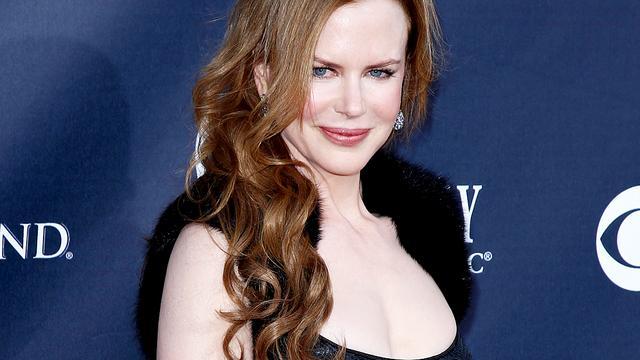 Nicole Kidman blijft poseren raar vinden