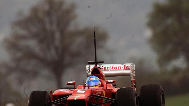 Eerste dag Formule 1-testsessie Mugello valt in het water