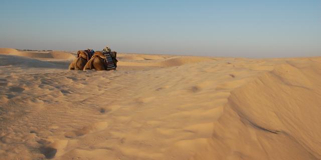 Wolk Saharazand schuift over Nederland
