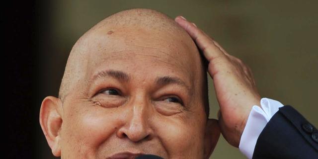 'President Chávez beetje vooruit'