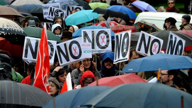 'Spanje haalt begrotingsdoelstelling niet'