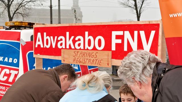 Abvakabo kraakt plan nieuwe vakbeweging