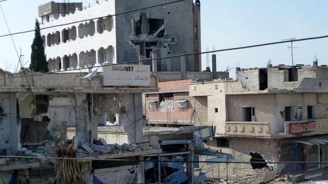 'Zware explosie bij kantoor regime Syrië'