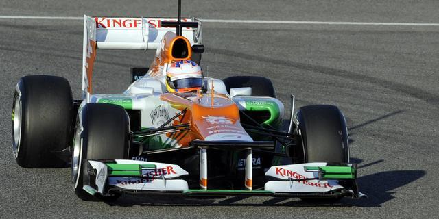Force India breidt deal met Mercedes uit