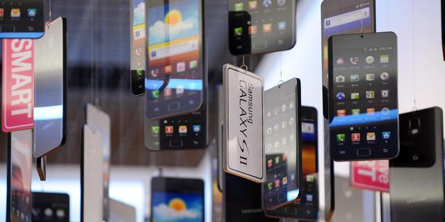 Smartphones bezorgen Samsung recordwinst