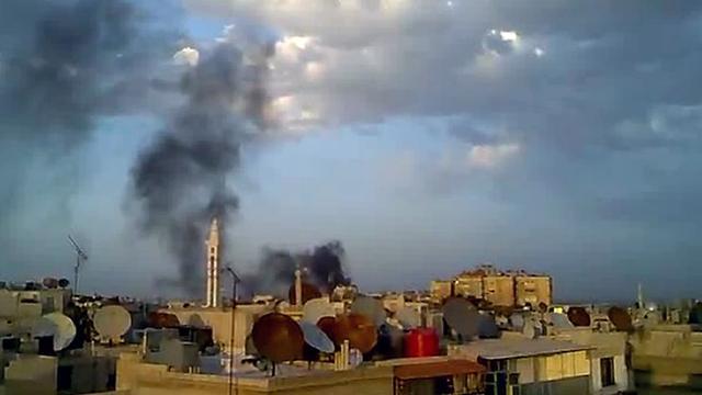 Veel doden en gewonden door raketaanval Syrië