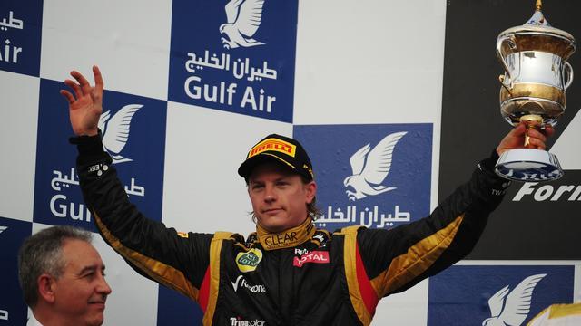 Raikkonen mikt op zege na tweede plek in Bahrein