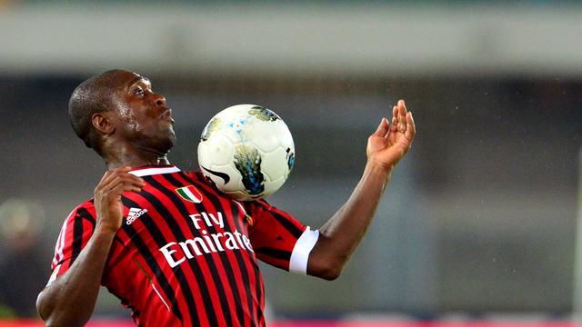 Seedorf heeft meningsverschil met Milan-trainer Allegri