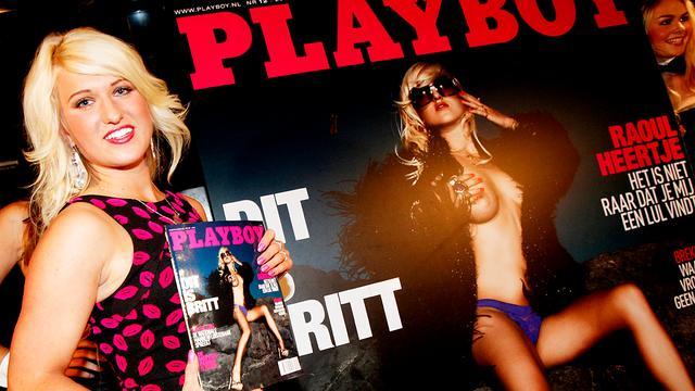 Geenstijl mag niet linken naar Playboy-foto's Britt Dekker