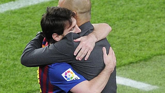 Emotioneel afscheid Guardiola in Camp Nou