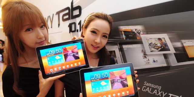 Samsung erkent tegenvallers op tabletmarkt