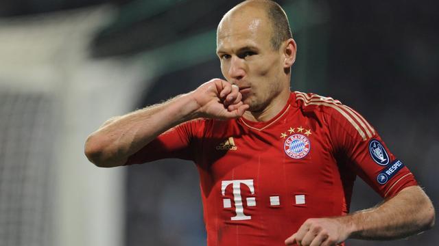 Robben mist ook wedstrijd tegen Hoffenheim