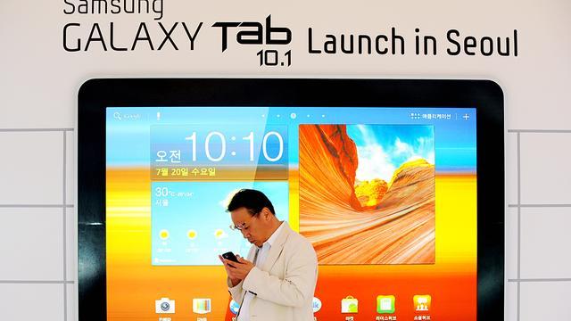 Geen Nederlands verbod op Galaxy Tab