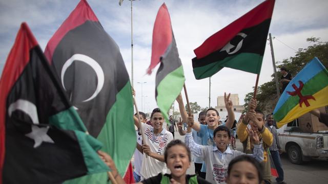 Regeringsgebouw Libië onder vuur genomen