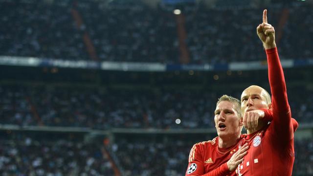 Bayern na strafschoppen in finale Champions League