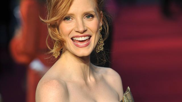Jessica Chastain in nieuwe campagne Yves Saint Laurent