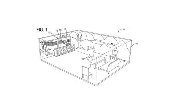 Microsoft vraagt patent aan op virtuele gamekamer