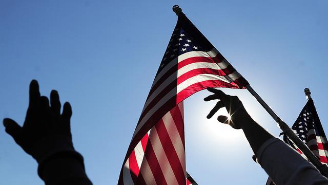 Presidentskandidaten VS oefenen debat met stand-ins