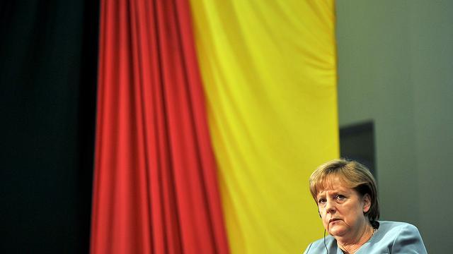 Merkel is bereid tot herkapitalisatie banken